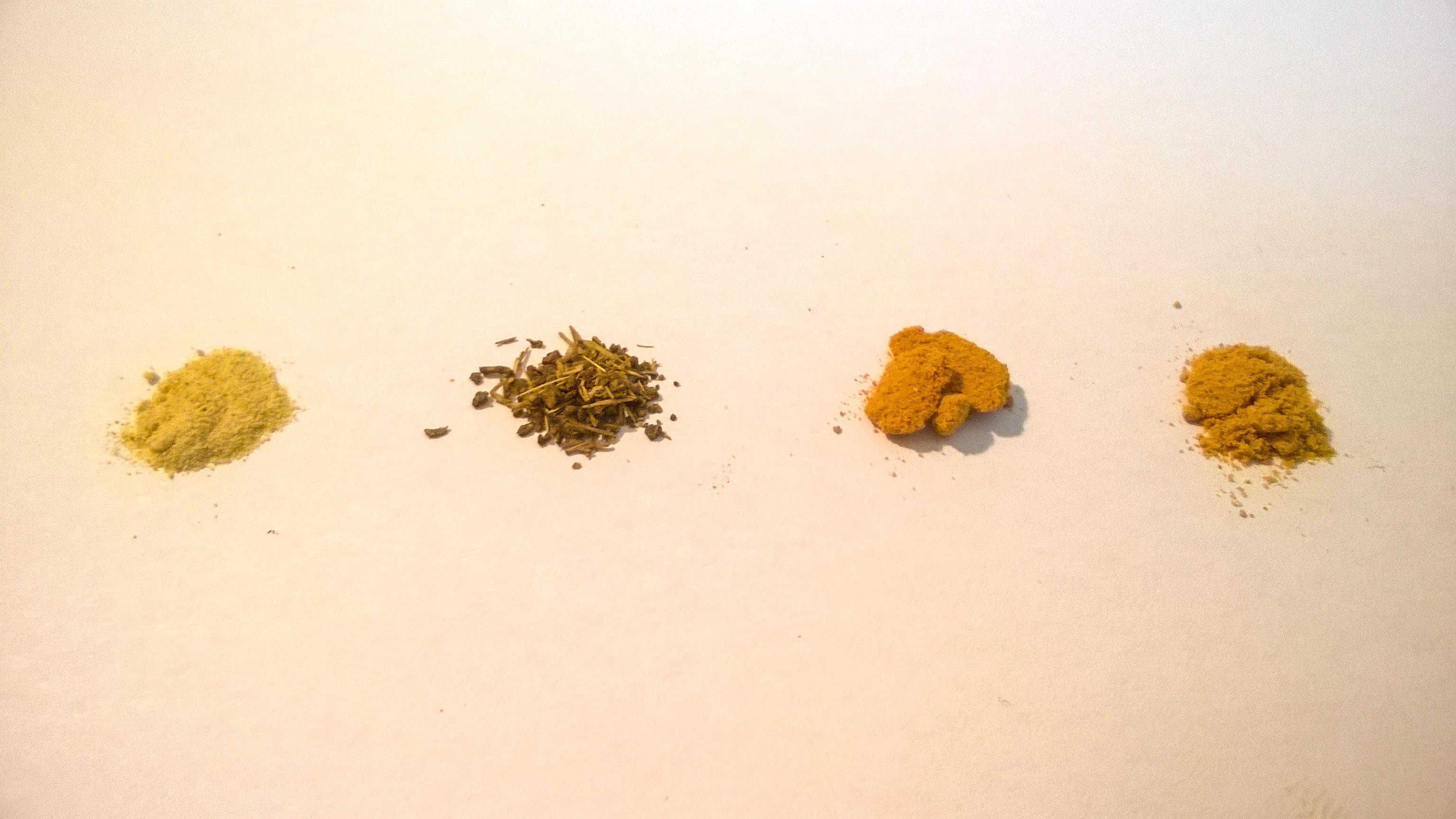 Aussehen der Kanna Extrakte